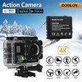 "Free shipping!Boblov X3 2"" Dual Screen LCD Wifi Sports Action Camera 4K 1080P 16MP Camera+Battery"