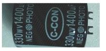品質 330V 1400UF フォトフラッシュコンデンサ 35*45 ミリメートル
