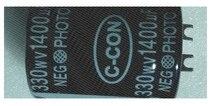 Kwaliteit 330V 1400 Uf Foto Flash Condensator 35*45 Mm