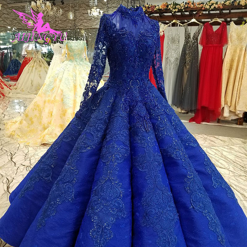 AIJINGYU Rhinestone Wedding Dresses Free Shipping On Gowns Bridal Designer In Dubai Two In One Sleeve Gown Wedding Dress For