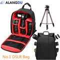 Free Shipping Coloful Waterproof Multi-functional Digital DSLR Camera Video Bag Small DSLR Camera Bag for Photographer ALANGDU