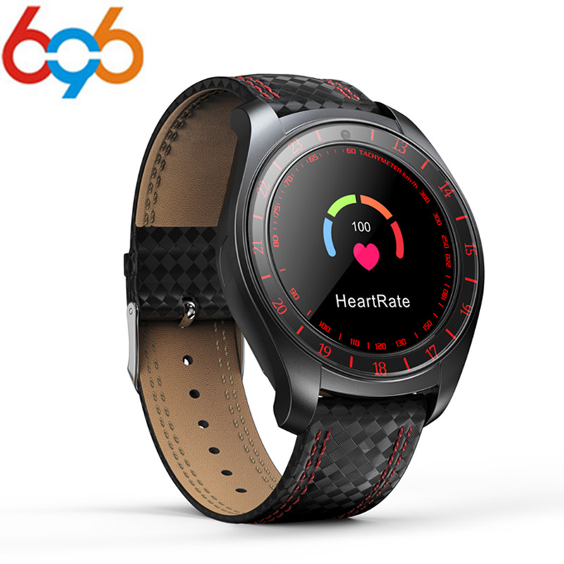 696 Bluetooth Smart Watch <font><b>V10</b></font> with Camera Heart Rate Monitor Pedometer <font><b>Smartwatch</b></font> support SIM TF Sports Wristwatch for Android image