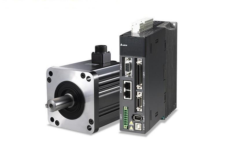 ECMA-F11308RS+ASD-A2-1021-M DELTA CANopen AC servo motor driver kits 0.85kw 1500rpm 5.41Nm 130mm frame