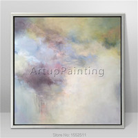 Modern abstract Colour Oil Painting Hand painted canvas Painting the perfect home Decorative painting 1