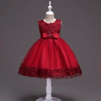 Newborn Princess Dresses For Girls Lace Baby Girl Clothes For Children Wedding Birthday Party Formal Dress