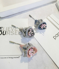 Korea Handmade Modern Flower Brooches Pins Badges Fashion Jewelry For Girl Woman Suits Accessories-JQGWBH016F