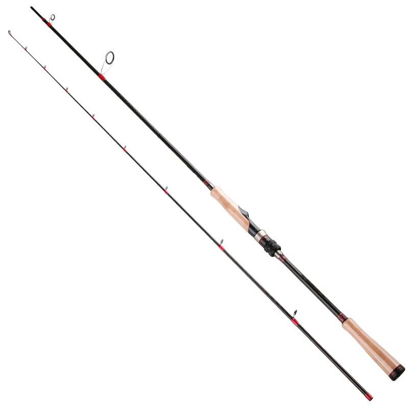 Tsurinoya Spinning Fishing Rod 8'/ 2.47M M Power Carbon Rod with Fuji Ring Trolling Seabass Fishing Hard Bait Soft Lure Rod DP