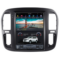 12.1 Tesla Android Car Radio Audio Sat Nav Head Unit for Toyota Land Cruiser 100 Lexus LX470 1998 1999 2000 2001 2002