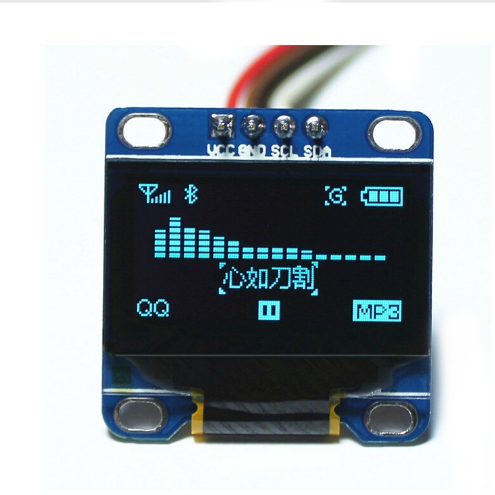 0.96 inchn 128x64 Oled LCD LED Display Module for DIY RC Quadcopter Drone Arduino 51 Msp420 Stim32 SCR