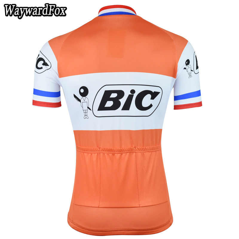 24cee98355b ... New men's Orange Cycling Jersey Retro Cycling Clothing Bike Wear  Maillot Roupa Ropa De Ciclismo Bicycle