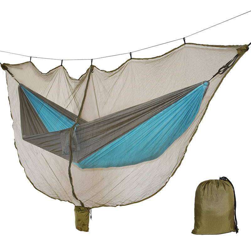 Lightweight Hammock Bug Mosquito Net Fits All Hammocks Outdoor Double Single Hammocks Outfitters Compact Mesh Insect Easy Setup  мидж москитная насекомых hat bug mesh head net face protector путешествия отдых бесплатная доставка