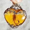 >>> Изысканный Тибет серебряные скорпион Кулон Ожерелье