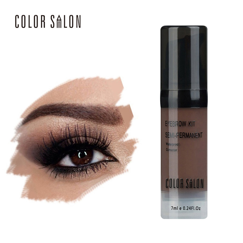 Color Salon Naked Shade For Eyebrow Gel 7ml Professional Waterproof Long lasting Tint Sexy Natural Eye