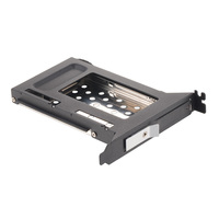 2.5in SATA aluminum bracket HDD/SSD Tray less mobile rack for PCI expansion slot