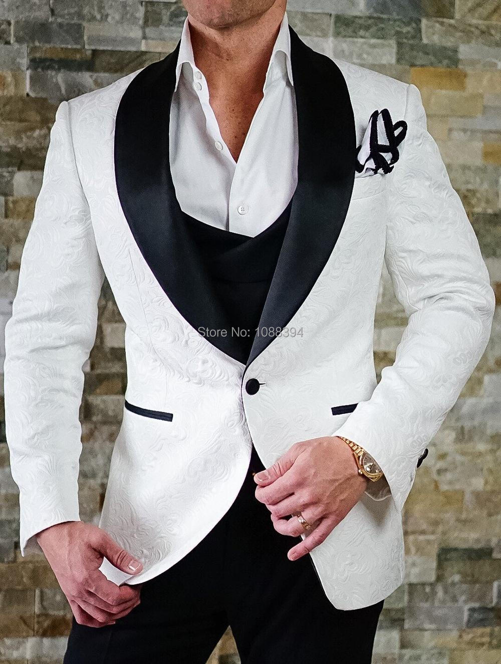 costume homme mariage 2018 best man blazer smoking white. Black Bedroom Furniture Sets. Home Design Ideas