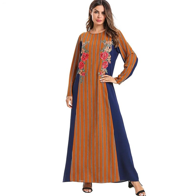 Plus Size Vestidos Robe Musulmane Longue Abaya Dubai Arabic Islam Muslim Hijab Dress Kaftan Women Caftan Marocain Ramadan Elbise