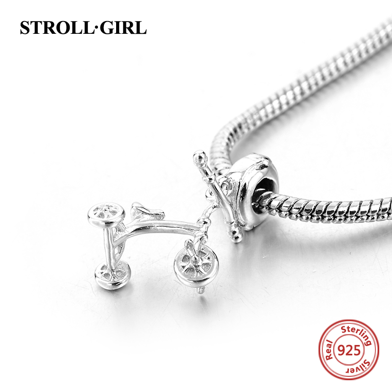 The Traffic Tools Pram Beads Fit Pandora charms Silver 925 Original Bracelet Authentic Pendant Luxury fashion Jewelry Gifts