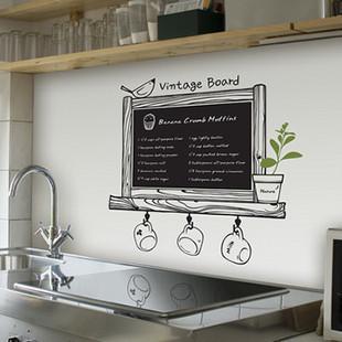 di alta qualit della cucina lavagna sticker decor lavagna rimovibile impermeabile del vinile wall sticker cucina