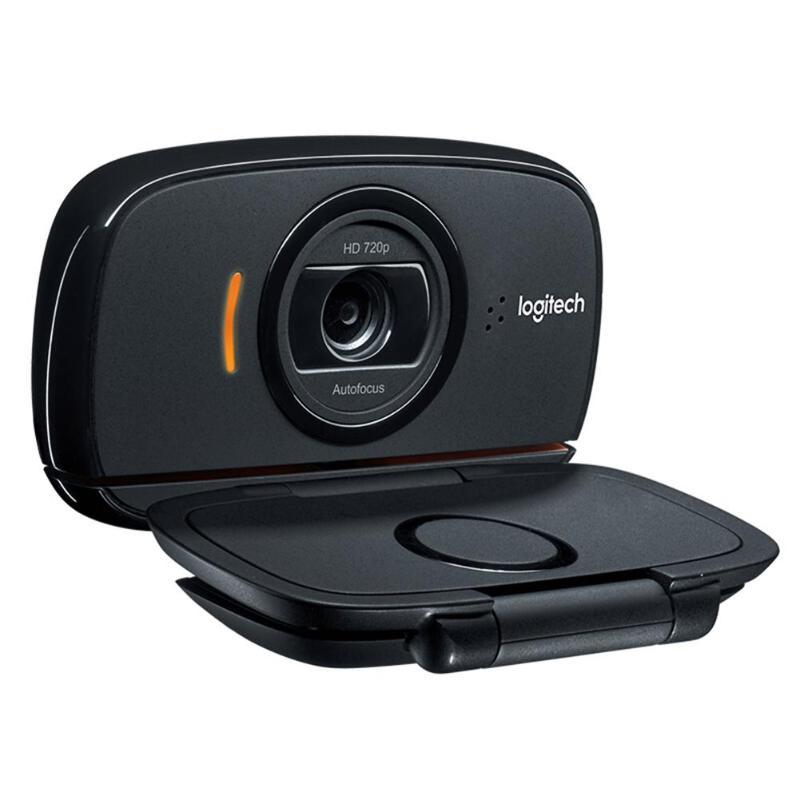 Logitech C525 HD Webcam Portable 360 rotatif 720 p 8 Mega intégré Mic vidéo mise au point automatique appelant USB Web Camer pour Windows 10/8/7 - 6