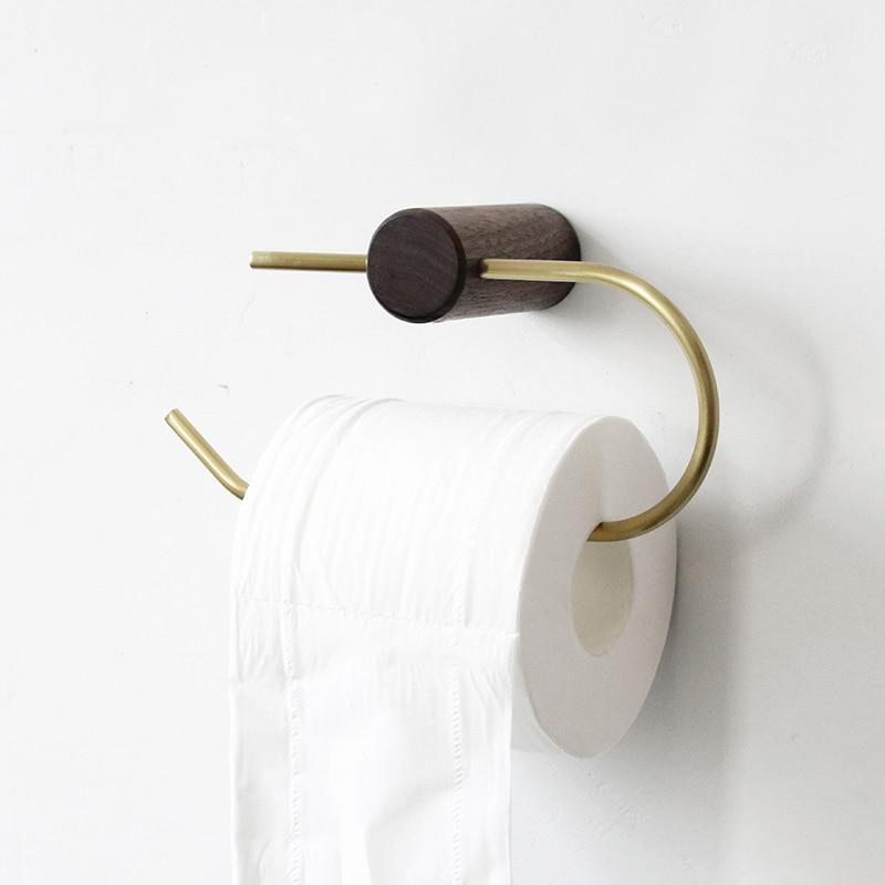 Toilet Paper Holder Copper Towel