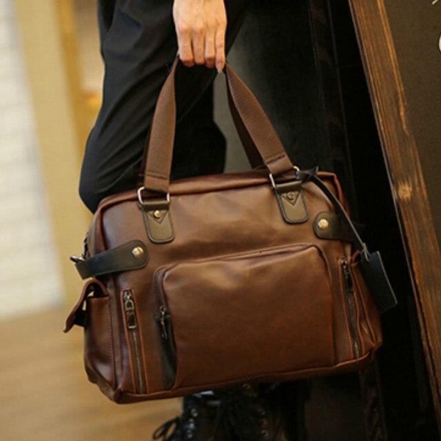 Tidog The new men's bag retro men fashion business bag casual bag