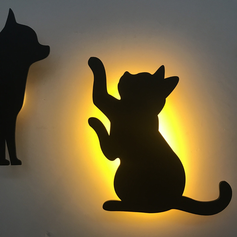 HZFCEW Smart Light and Voice Control Night Light Silhouette Shadow LED Projection Light FR127 HZFCEW Smart Light and Voice Control Night Light Silhouette Shadow LED Projection Light FR127