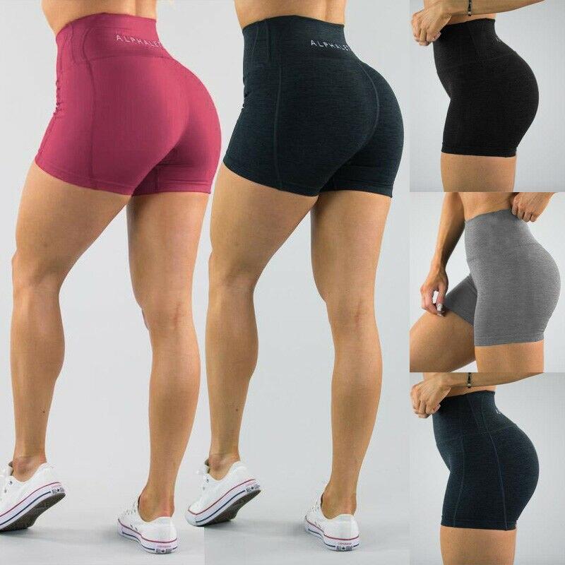 Hirigin Womens Gym Shorts Fitness Hot High Waist Short Beach Sports Jogging Casual Shorts