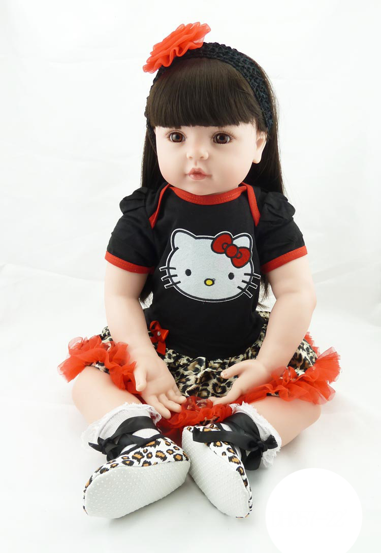 Doll reborn 22 bebe girl reborn bonecas silicone dolls reborn babies for kids gift princess toddler dolls