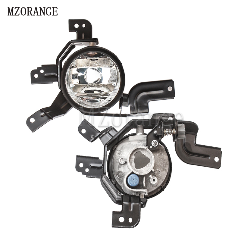 MZORANGE H11 Halogen / LED Bulb Fog light for HONDA CRV CR-V 2007 - 2009 fog lamps Front Bumper Fog Lights Driving Lamps 1 pair front halogen fog lights lamps turn signal light front bumper fog light for hyundai sonata 2011 2012 2013