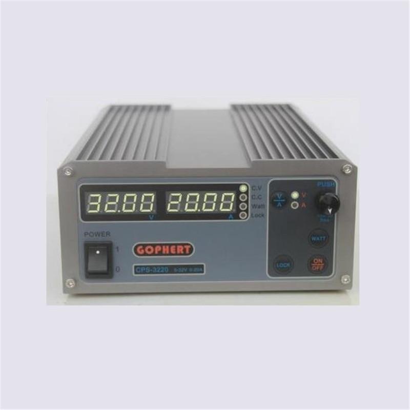 ミニ cps 3220 DC 電源 OVP/OCP/otp 低電力 110 ボルト 230 ボルト 0 32 ボルト 0 20A  グループ上の 家のリフォーム からの 電圧レギュレータ/安定器 の中 1