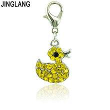 Jinglang модные 12 шт/лот животные застежка лобстер Подвески