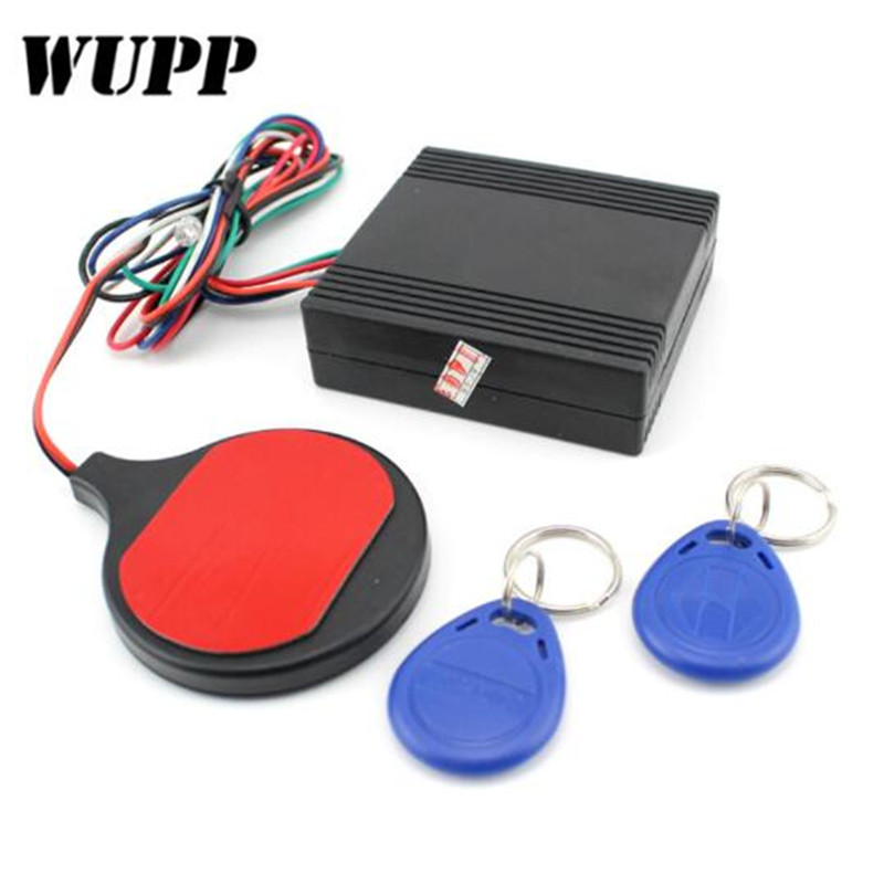 WUPP Motorcycle Motorbike Alarm Ic Card Alarm Universal Induction Invisible Lock   Immobilizer Lock For All Cars