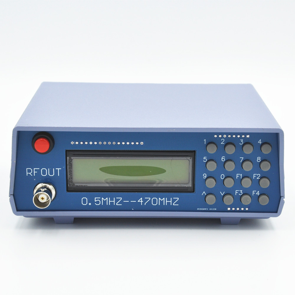 2pcs Good Quality Rf Signal Generator Meter Tester Frequency Range 0.5mhz-470mhz For Fm Radio Walkie-talkie/two Way Radio Debug A Great Variety Of Models Back To Search Resultscellphones & Telecommunications