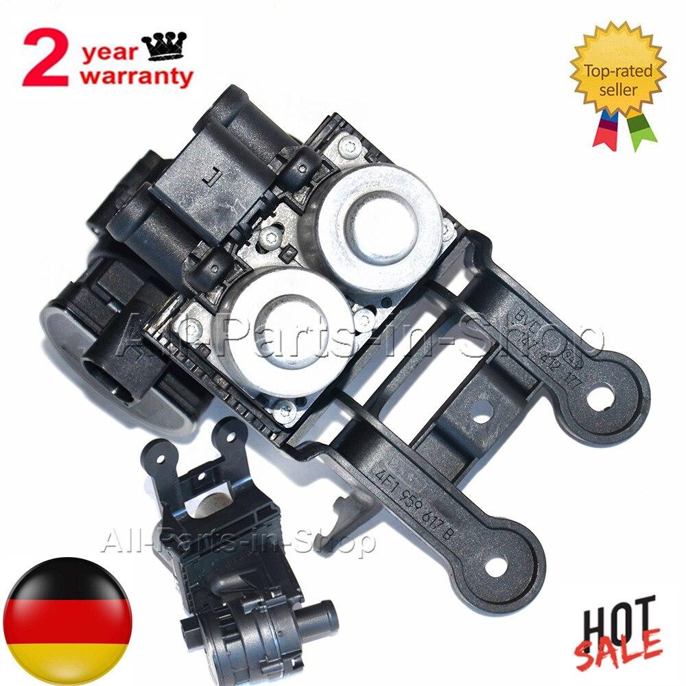 Zawór sterujący podgrzewacza płynu chłodzącego AP01 dla Audi A6 (4F, C6) Allroad Avant 4F1959617B 4F1959617A 4F1959617 4F1959617B