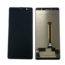 "6.0 ""Original Display for Nokia 7 Plus lcd 7 Plus touch screen display TA 1062 lcd digitizer replacement"