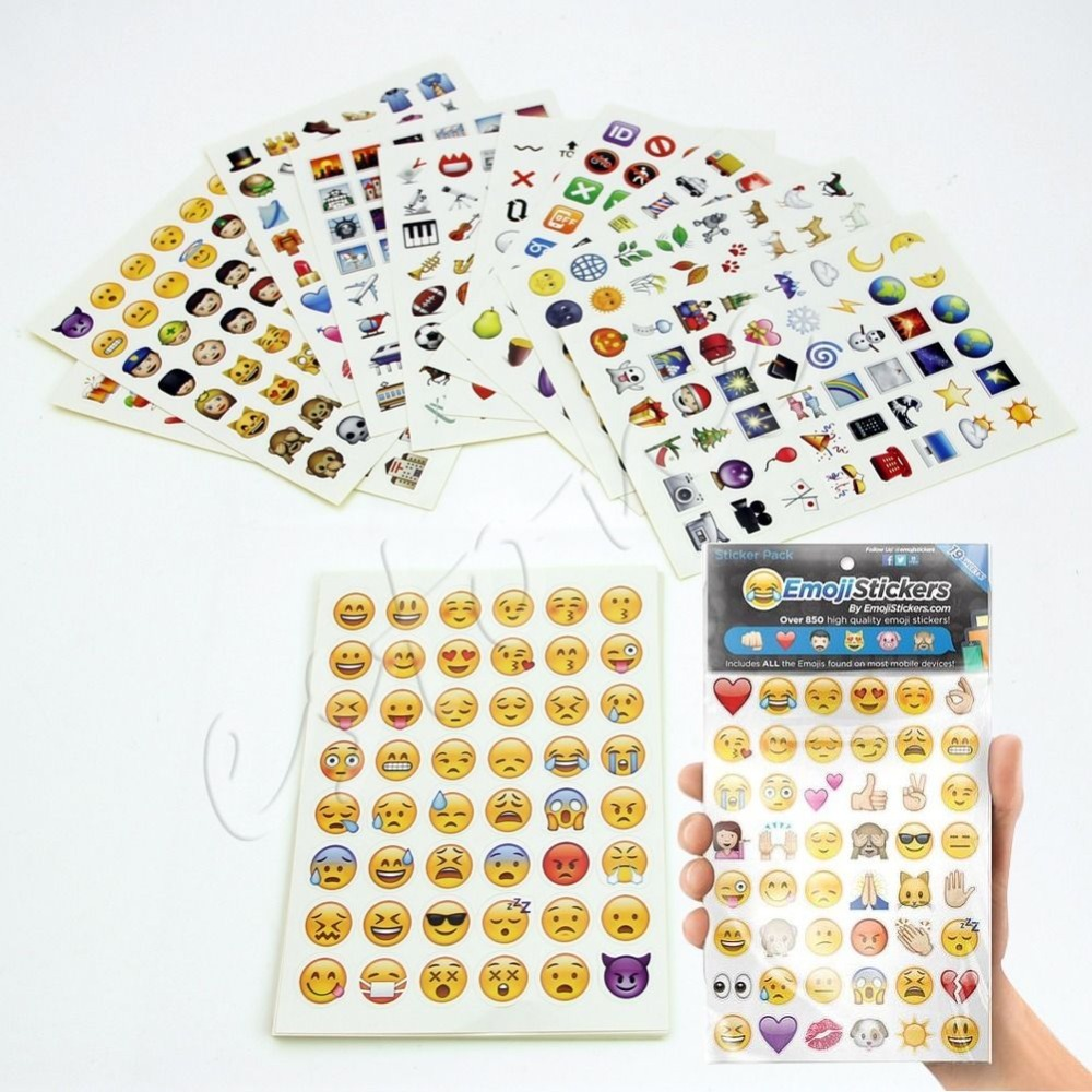Emoji Sticker Pack 912 Emoji Stickers Most Popular Emojis ...