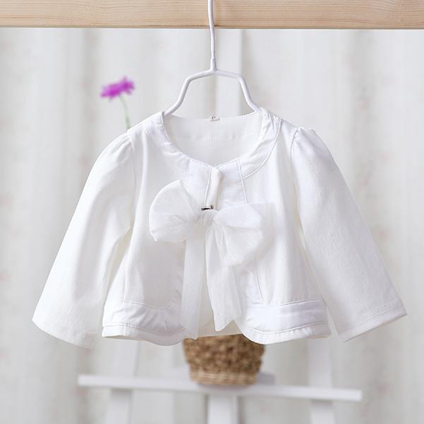 2017 primavera otoño nuevo estilo de los bebés de la rebeca chaqueta corta abrigos bebés niños bastante lindo chal niño chaqueta prendas de Vestir Exteriores