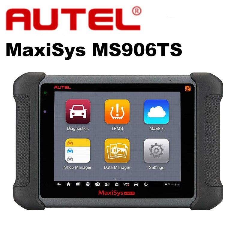 Autel MaxiSys MS906TS Pro Автомобильная полный Системы OBD2 автоматический диагностический программирования сканер автомобиля TPMS OBDII ЭКЮ кодирования ...