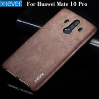 Huawei Mate 10 Pro Mate RS Case X Level High Quality Vintage Leather Phone Case For