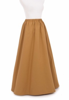 Victorian Edwardian Twill Skirt Victorian French Pleated Gathered Bustle Skirts фото