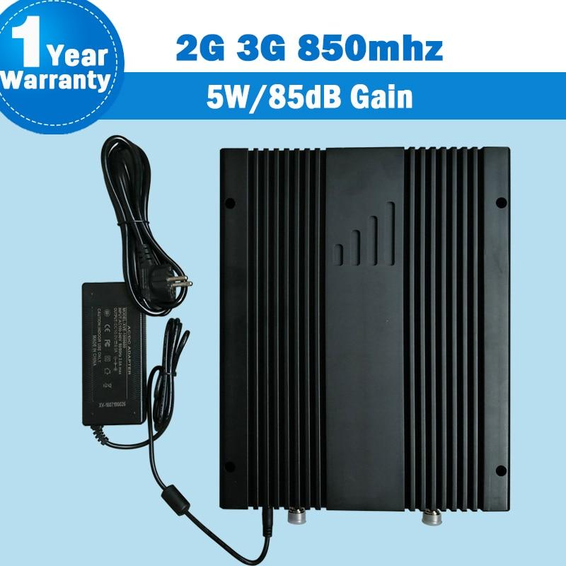 Lintratek 85dB High Gain 5W Supper Power förstärkare 2G 3G GSM CDMA - Reservdelar och tillbehör för mobiltelefoner - Foto 1