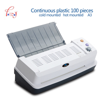 Hot &Cold A3 Electric Laminator Machine 330mm 4 Roller System photo laminating machine Office School and Household 1PC