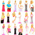 Lots 40 Items/ Clothing Suit + Hangers +Shoes / Handmade Doll Dress Outfit Leisure Wear Accessories For 1/6 Barbie Kurhn Doll