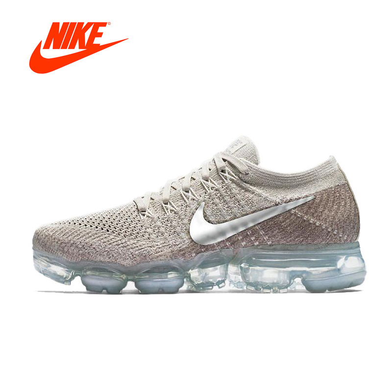 Original New Arrival Authentic Nike Air VaporMax Flyknit Women's Comfortable Running Shoes Sneakers Good Quality 849557-202 цена