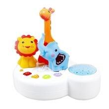 Детский Светильник, Музыкальный проектор, детские игрушки для сна, Звездный светильник игрушка-проектор, музыка, умные детские игрушки