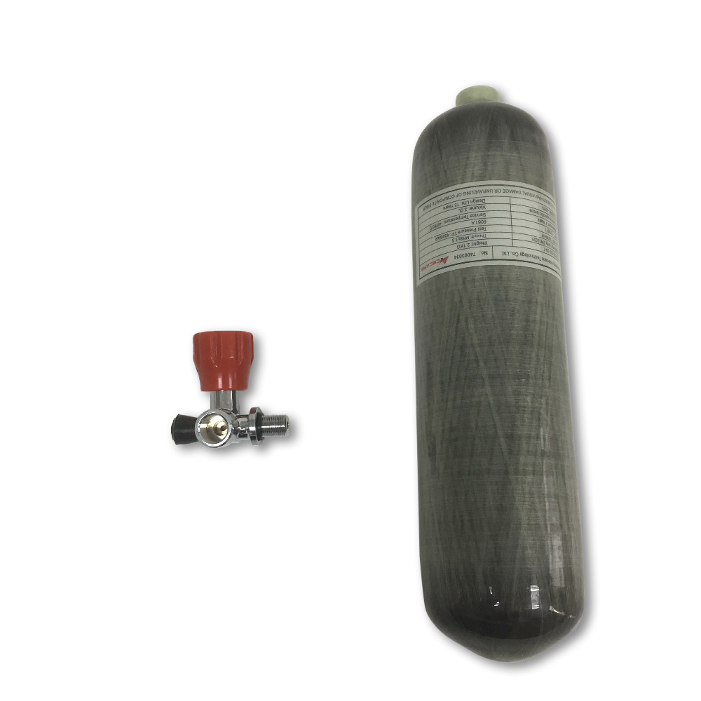 AC10311 pcp air rifle mini bottle dive hpa tank 4500psi Scuba high pressure cylinder 3L CE m18 1 5 thread in Fire Respirators from Security Protection
