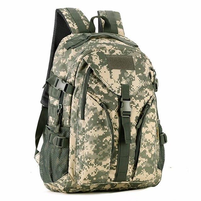 40L Waterproof Molle Backpacks Military 3P Tactics Rackpack Assault Nylon Travel Rucksack Bag for Men Women Rucksack Bag 6