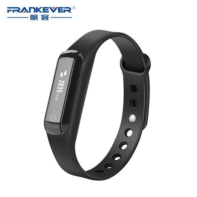 frankever smart bracelet statistics step number mileage records