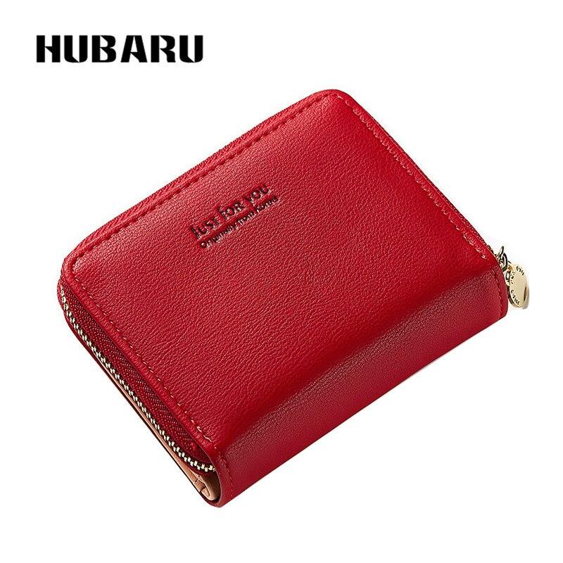 7659c499cf HUBARU νέα μόδα γυναικών σύντομο πορτοφόλι κουμπί κουμπιού PU ...