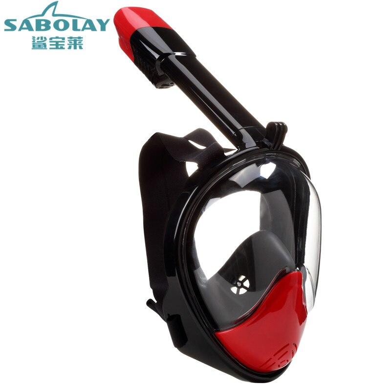 Masque de plongée lunettes de natation masque de plongée Anti brouillard Spray 180 masque de plongée sous l'eau équipement de natation
